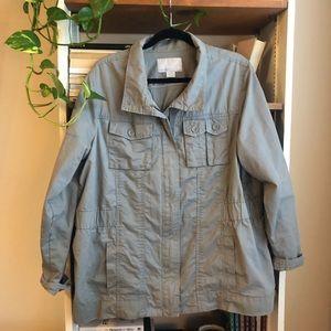 Gray Army Jacket